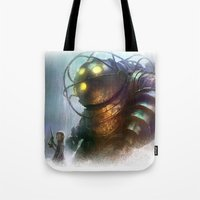 Mr Bubbles strolling  Tote Bag