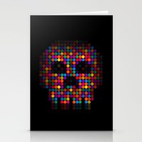 A Colorful Death by Qixel Stationery Cards