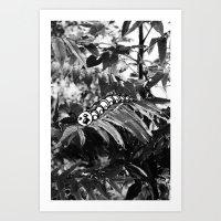 Art Print featuring Catipillar by Gnarleston