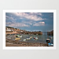Mousehole Cornwall Art Print
