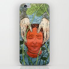 Death Mask iPhone & iPod Skin