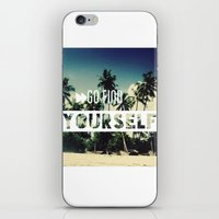 Go Find Yourself iPhone & iPod Skin