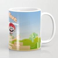 Super Mario Bros. Drain … Mug