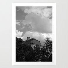 sky and ..  Art Print