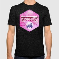 FEMOTO Mens Fitted Tee Tri-Black SMALL
