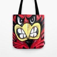 Fighting Cardinal Tote Bag