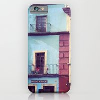 iPhone & iPod Case featuring Mexican houses by Olivier P.