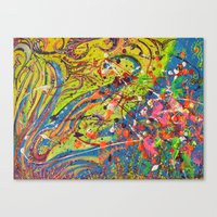 Fun Abstract works Canvas Print