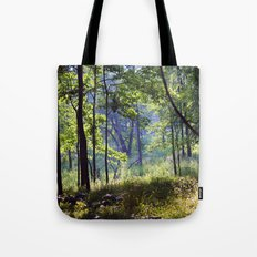 Forest Shadows Tote Bag
