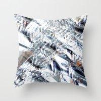 Crunchy frost Throw Pillow