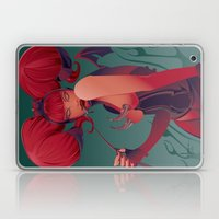 DECADENTLY HORNY Laptop & iPad Skin