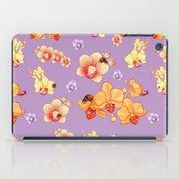 Orchids & Ladybirds iPad Case