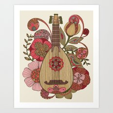 Ever Mandolin  Art Print
