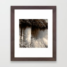 Reign In The Woods Framed Art Print