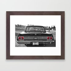 '65 Fairlane aesthetics Framed Art Print