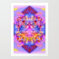 Funky Reincarnation-Lady Jasmine Art Print