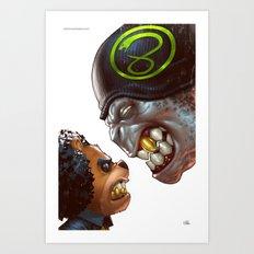 Bo: Plushy Gangsta variant cover Art Print