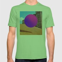 Modernismo Mens Fitted Tee Grass SMALL