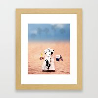 To Hell With Those Droid… Framed Art Print
