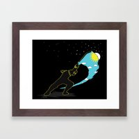 Ninja Slice Framed Art Print