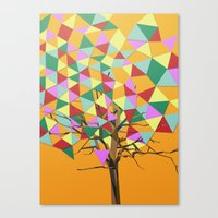 Treeangle Canvas Print