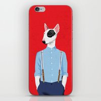Skinhead Bull Terrier iPhone & iPod Skin