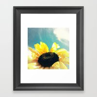 FLOWER 034 Framed Art Print