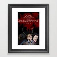 First Peter - Hannibal F… Framed Art Print