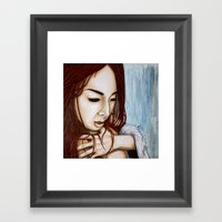 The Fastest Way There Is… Framed Art Print
