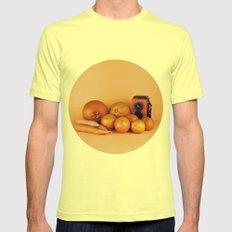Orange carrots - still life Mens Fitted Tee Lemon SMALL
