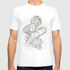 Aisling | Secret of Kells Mens Fitted Tee White SMALL