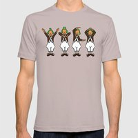 Oompa Loompa YMCA Mens Fitted Tee Cinder SMALL