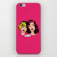 Gossip iPhone & iPod Skin