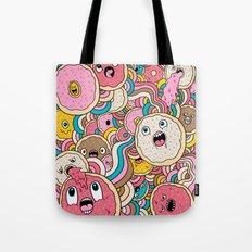 Donut Doodle Tote Bag