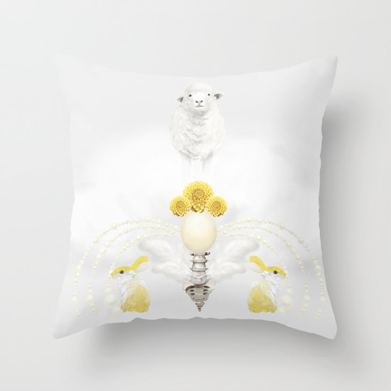 Lesser Throw Pillow