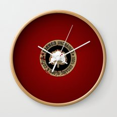 Minimal movie cover: Django Unchained Wall Clock