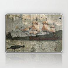 paper III :: octopus/ship Laptop & iPad Skin