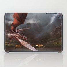 Smaug Burns Lake-Town iPad Case