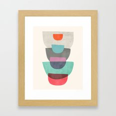 Abstract #1 Stack Framed Art Print