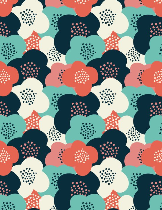 FlowerGarden Art Print