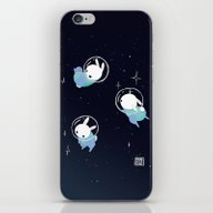 Space Bunnies iPhone & iPod Skin