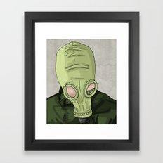 Dead Man's Shoes Framed Art Print