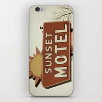 Sunset Motel iPhone & iPod Skin