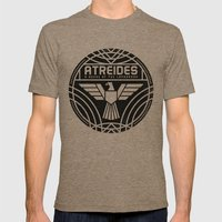 HOUSE ATREIDES BADGE Mens Fitted Tee Tri-Coffee SMALL