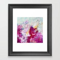 abstract landscape - variation Framed Art Print