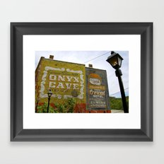 Tourist traps. Framed Art Print