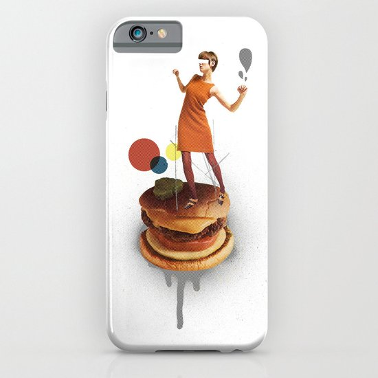 These Burgers Are Crazy | Collage iPhone & iPod Case