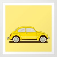 vw Art Prints featuring VW by Robert Gustafsson