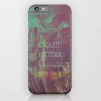 iPhone & iPod Case featuring Luqaiot Kittitas by Jesús Enri