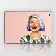 Hipstory - Hillary Clint… Laptop & iPad Skin
